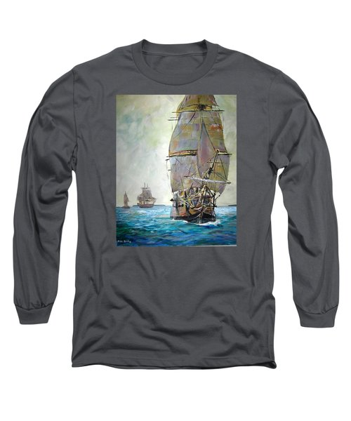 Tall Ships 2 Long Sleeve T-Shirt