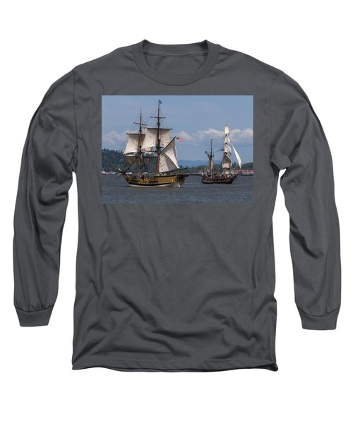 Tall Ships Square Off Long Sleeve T-Shirt