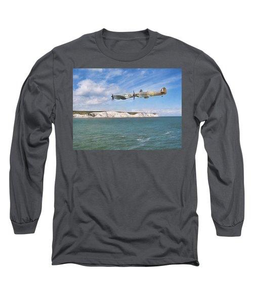 Tally Bally Ho Long Sleeve T-Shirt by Roy McPeak