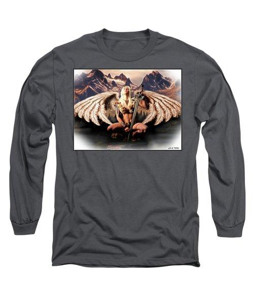Talon Of The Hawk Woman Long Sleeve T-Shirt