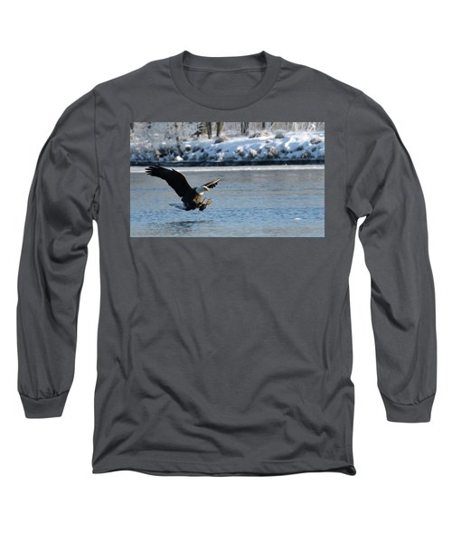Talons Out Long Sleeve T-Shirt by Brook Burling