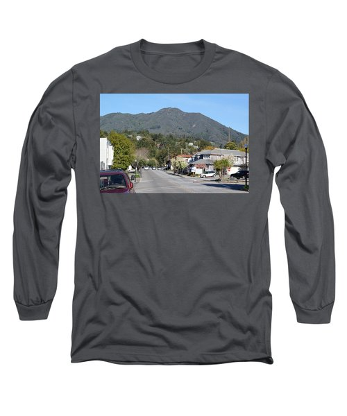 Tamalpais From Mill Valley Long Sleeve T-Shirt