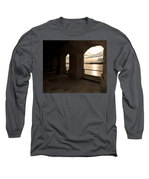Tamar Estuary Sunset Long Sleeve T-Shirt