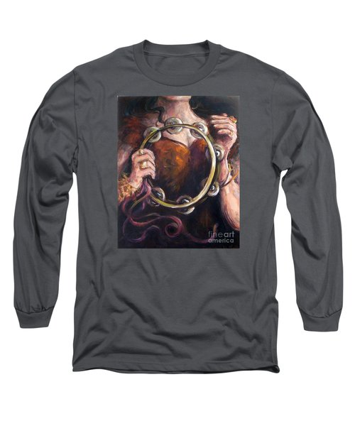 Tambourine Long Sleeve T-Shirt
