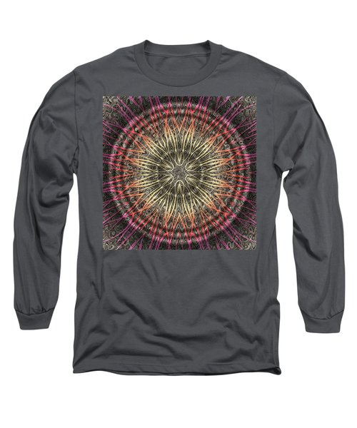 Tangendental Meditation Long Sleeve T-Shirt