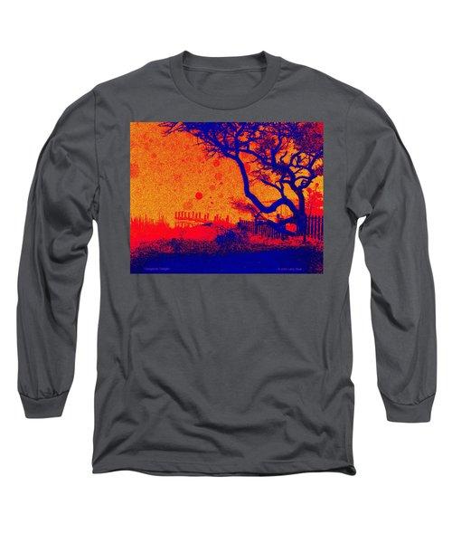 Tangerine Twilight Long Sleeve T-Shirt