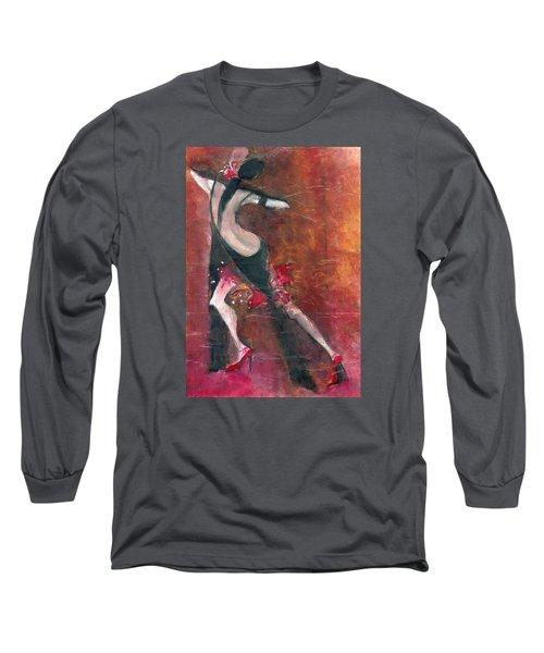 Tango Long Sleeve T-Shirt by Maya Manolova