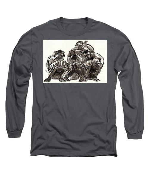 Tango Musicians Long Sleeve T-Shirt
