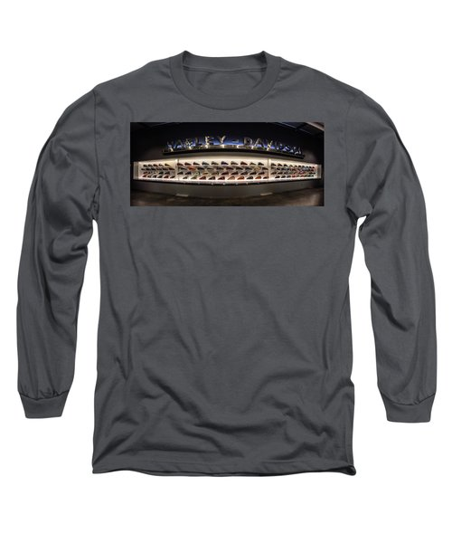 Long Sleeve T-Shirt featuring the photograph Tank Wall by Randy Scherkenbach