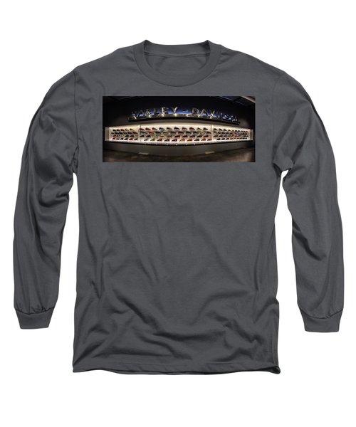 Tank Wall Long Sleeve T-Shirt by Randy Scherkenbach