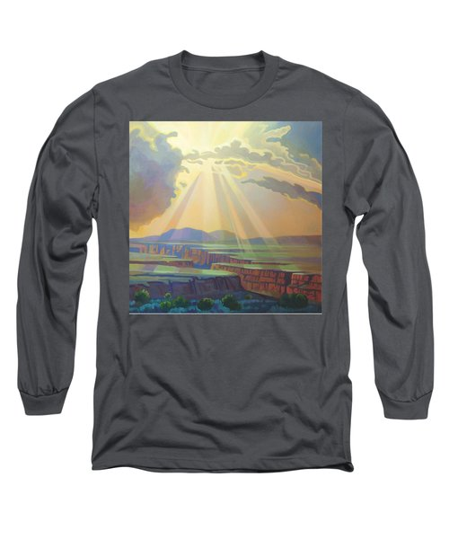 Taos Gorge God Rays Long Sleeve T-Shirt