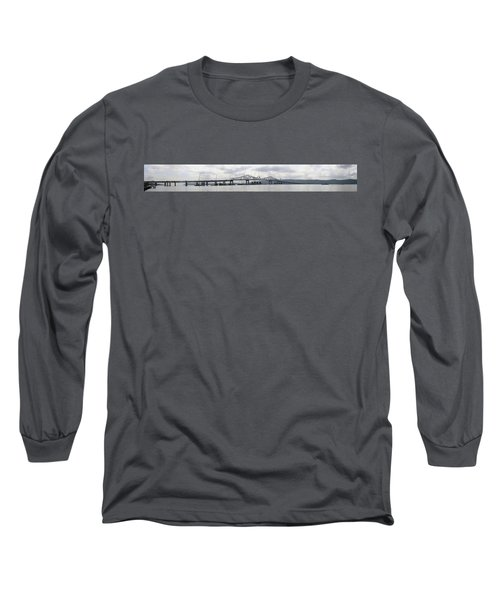 Tappan Zee Bridge From Tarrytown Long Sleeve T-Shirt