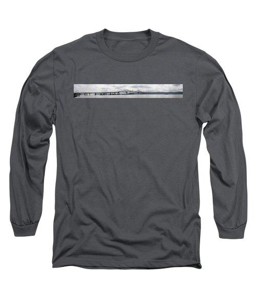 Tappan Zee Bridge From Tarrytown Long Sleeve T-Shirt