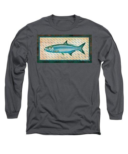 Tarpon Long Sleeve T-Shirt by Jon Q Wright