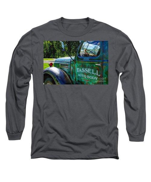 Tassell Long Sleeve T-Shirt by Randy Pollard