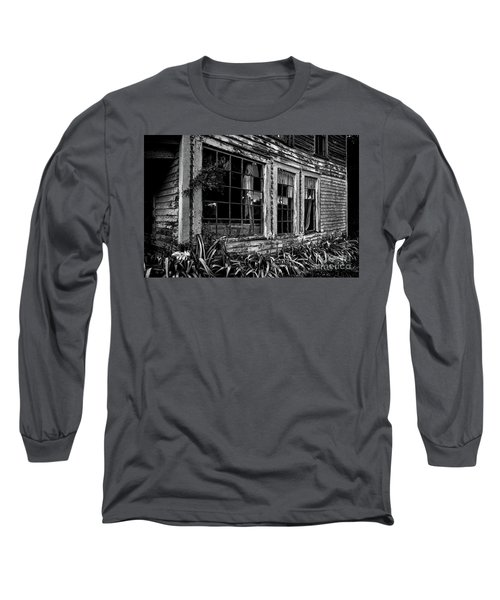 Tattered Long Sleeve T-Shirt