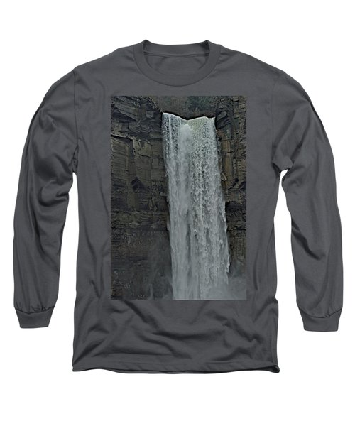 Taughannock Falls State Park Long Sleeve T-Shirt by Joseph Yarbrough