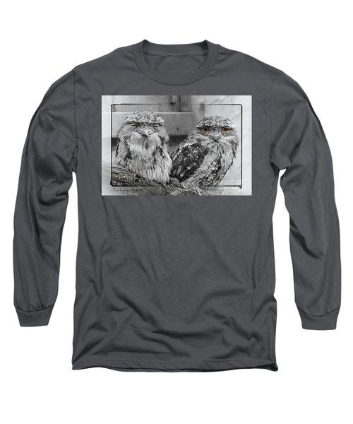 Tawney Frogmouths Long Sleeve T-Shirt