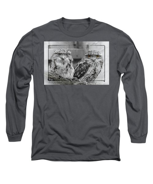 Tawney Frogmouths Long Sleeve T-Shirt