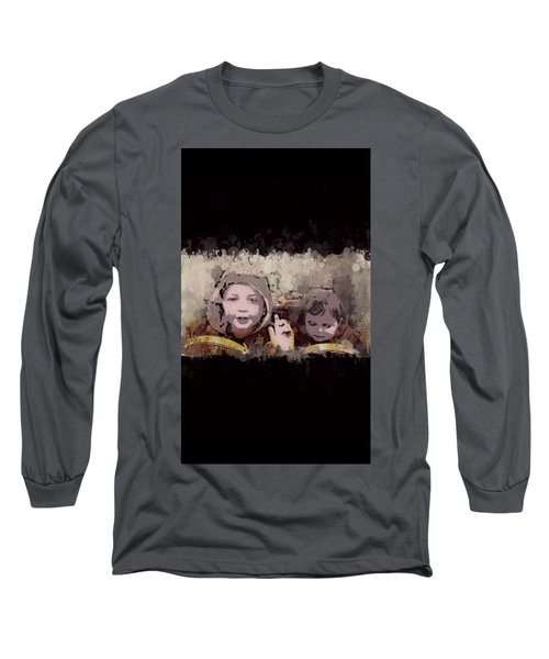 Taxi For Two Long Sleeve T-Shirt