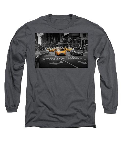 Taxi Please Long Sleeve T-Shirt
