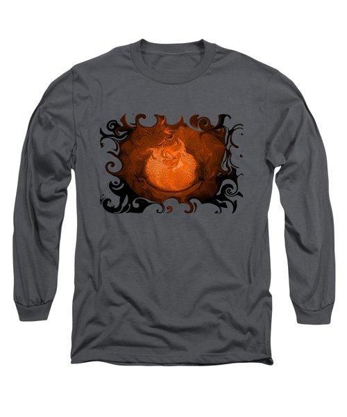 Taz Long Sleeve T-Shirt by David and Lynn Keller
