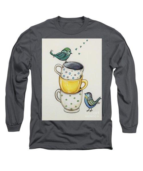 Tea Time Friends Long Sleeve T-Shirt