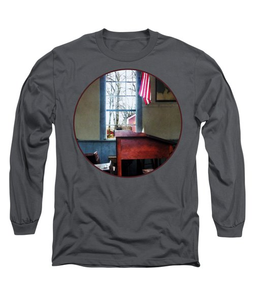 Teacher - Schoolmaster's Desk Long Sleeve T-Shirt