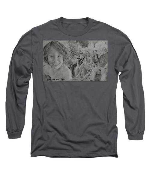 Teagan And Her Family Long Sleeve T-Shirt