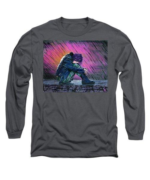 Tears In The Rain Long Sleeve T-Shirt