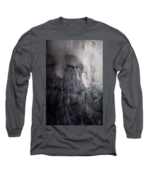 Long Sleeve T-Shirt featuring the digital art Tears Of Ice by Gun Legler