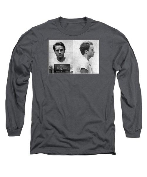 Ted Bundy Mug Shot 1975 Horizontal  Long Sleeve T-Shirt