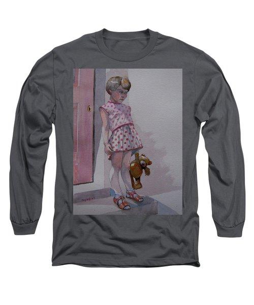 Teddy Long Sleeve T-Shirt by Ray Agius