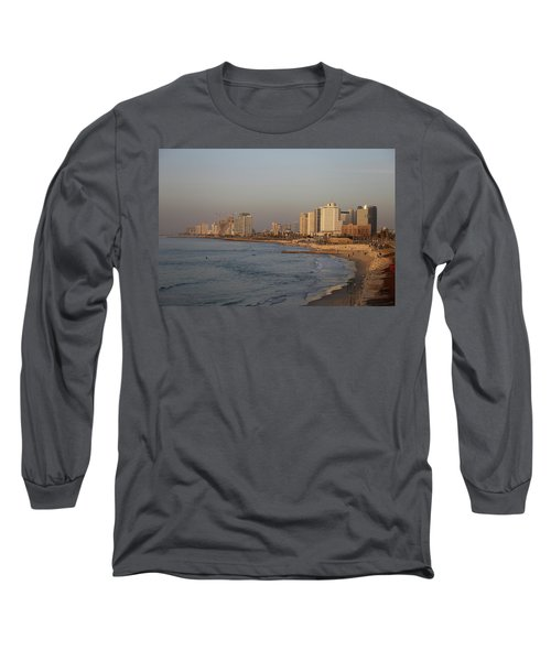 Tel Aviv Coast. Long Sleeve T-Shirt