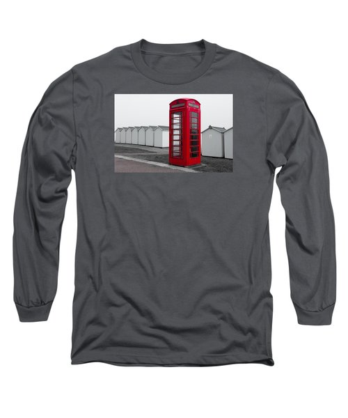 Telephone Box By The Sea I Long Sleeve T-Shirt