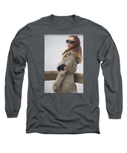 Tell Me Something.. Long Sleeve T-Shirt