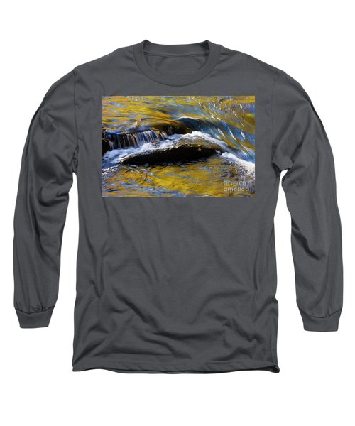 Long Sleeve T-Shirt featuring the photograph Tellico River - D010004 by Daniel Dempster