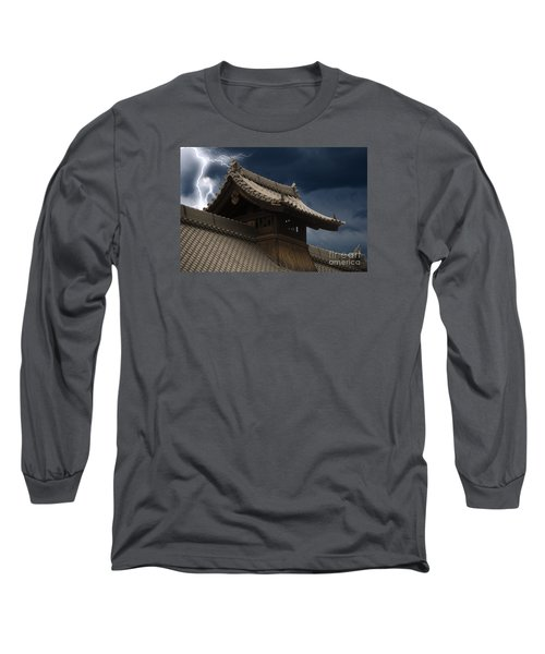 Temple In The Sky Long Sleeve T-Shirt