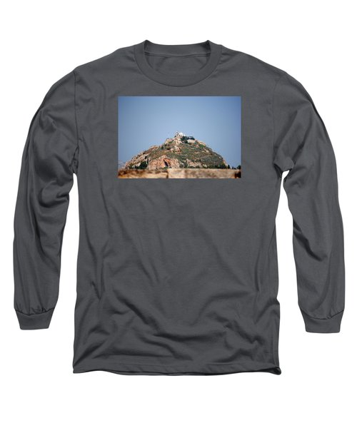 Long Sleeve T-Shirt featuring the photograph Temple Of Zeus by Robert Moss