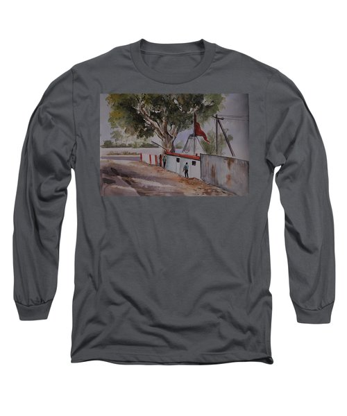 Temple Scene1 Long Sleeve T-Shirt