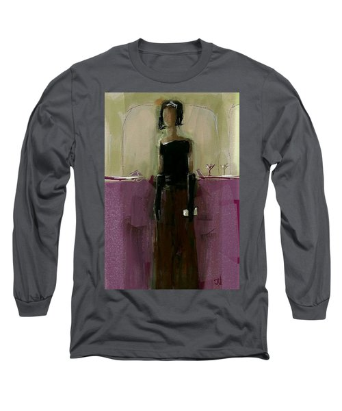 Temporary Wall Flower Long Sleeve T-Shirt by Jim Vance