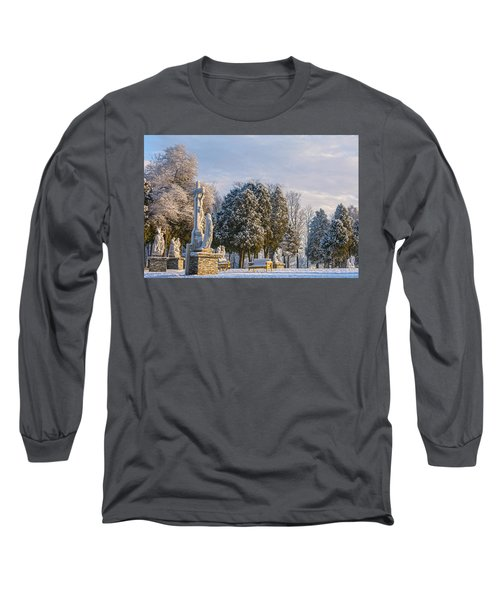 Ten Stations Of The Cross Christmas Morning Long Sleeve T-Shirt