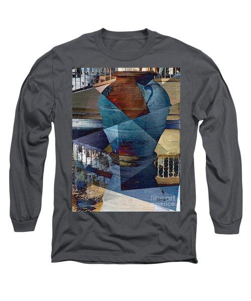 Terra Cotta Vase Long Sleeve T-Shirt