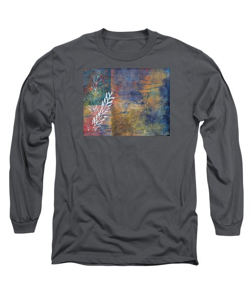Terra Firma Long Sleeve T-Shirt by Theresa Marie Johnson