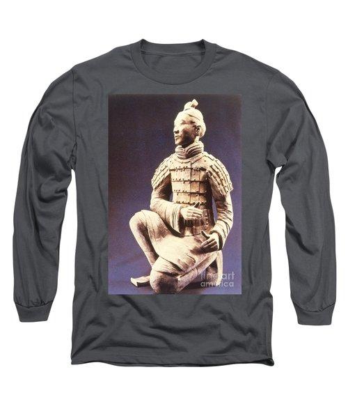 Terracotta Soldier Long Sleeve T-Shirt