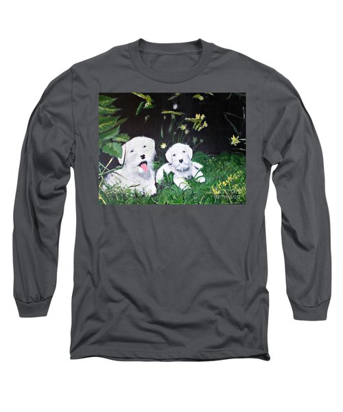 Terriers' Farm Pals. Long Sleeve T-Shirt