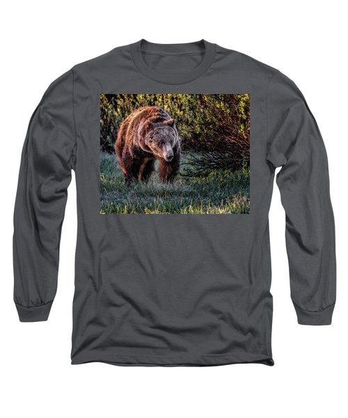 Teton Grizzly Long Sleeve T-Shirt
