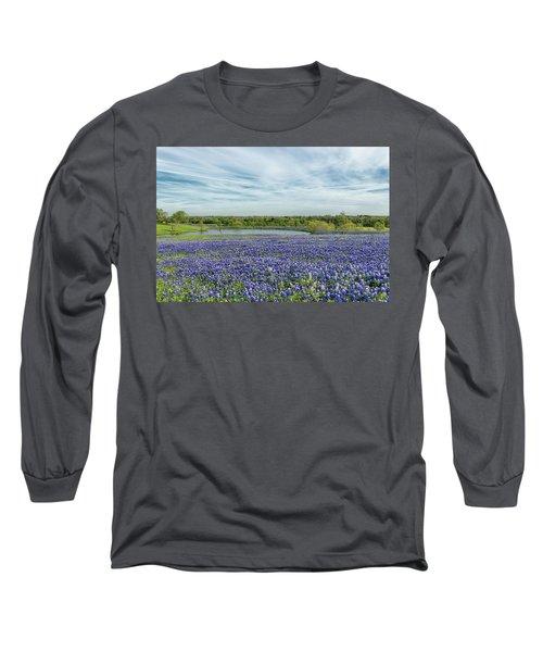 Texas Bluebonnets 13 Long Sleeve T-Shirt