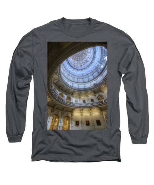 Texas Capitol Dome Interior Long Sleeve T-Shirt