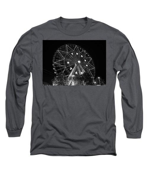 Texas Star 061116 V2bw Long Sleeve T-Shirt